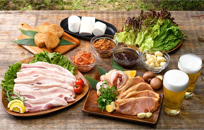 【飲み放題付】サムギョプサル食べ放題BBQプラン